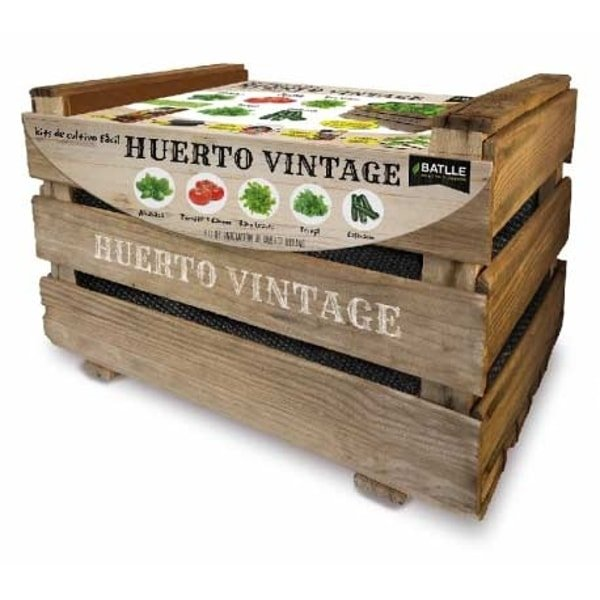 kit huerto vintage