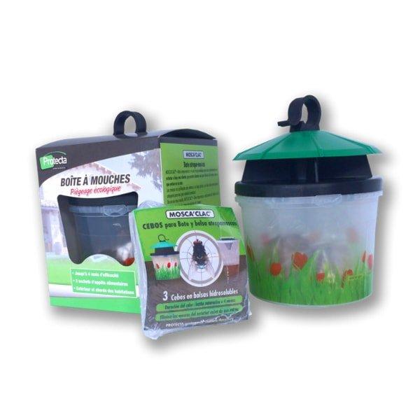 protecta moscaclac trampa y bolsas para moscas
